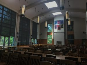 Commons Center is traditionally the hub of first-year students on Vanderbilt's campus.  (Hustler Multimedia/Chloe Postlewaite)