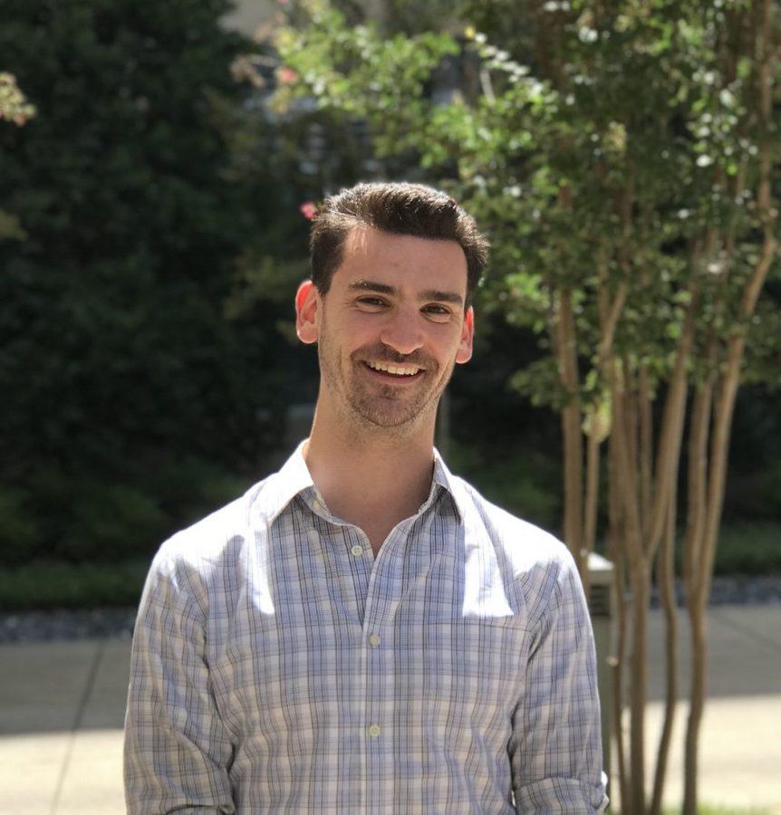 Ben Lane joined Vanderbilt's Data Science Institute in 2019, where he was a valued team member and friend. (Vanderbilt)