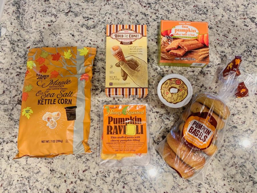 Trader Joe's is offering a wide variety of fall-themed items for their customers to purchase (Natalie Vitols)