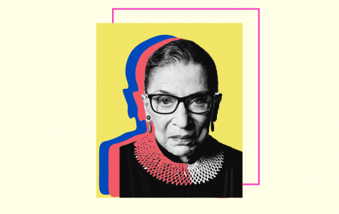 Justice Ginsburg's nickname, The Notorious R.B.G., was given to her by a fellow law student after the famed rapper The Notorious B.I.G. (Hustler Communications/Emery Little)