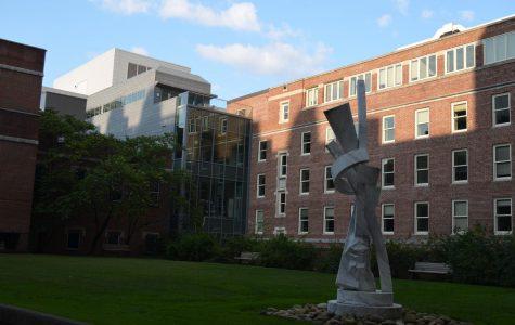 The School of Nursing as photographed on Sept. 10, 2020. (Hustler Multimedia/Alex Venero)