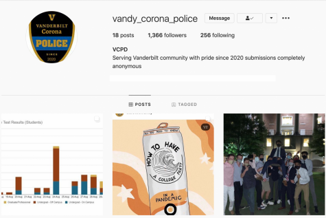 Vandy Corona Police Instagram page. Screenshot by Eva Pace