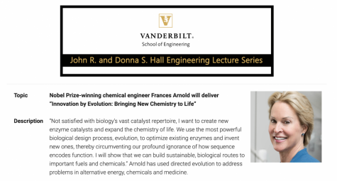 Nobel Laureate Dr. Frances Arnold delivers 2020 Dr. John R. and Donna S. Hall Engineering Lecture via Zoom