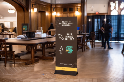 Dining halls switch to compostable silverware; vegan and vegetarian students reflect on Fall 2020 dining changes
