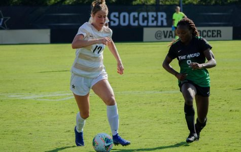 Vanderbilt's Women's Soccer team defeated Marshall on September 8th, 2019. Vanderbilt wins 3-2.