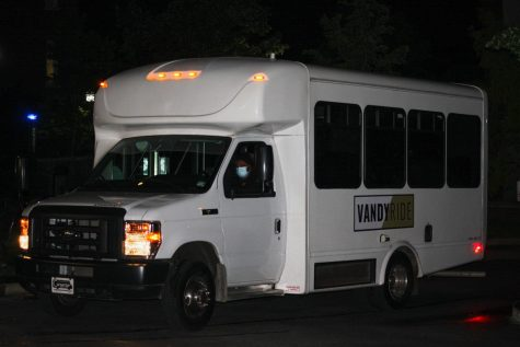 VandyRide is Vanderbilt's on-campus busing system. (Hustler Multimedia/Josh Rehders)