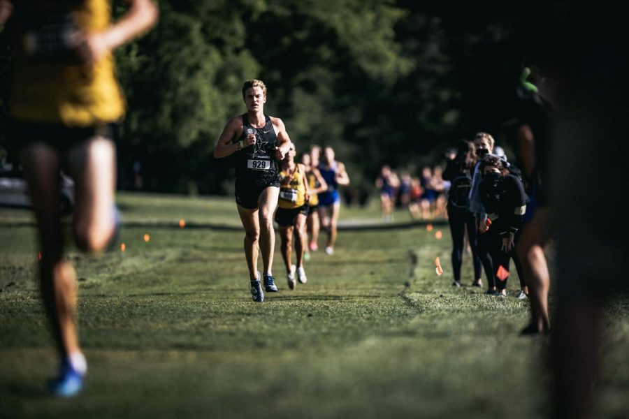 Vanderbilt cross country competes in the 2020 Commodore Classic. (Hustler Multimedia/Hunter Long)