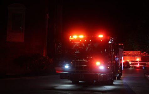 Metro Nashville Fire Department truck located on Commons on Sept. 27, 2020. (Hustler Multimedia/Geena Han)