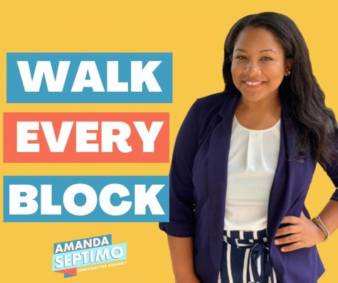 Bronx Assemblywoman candidate and returning undergraduate student Amanda Septimo leads with compassion