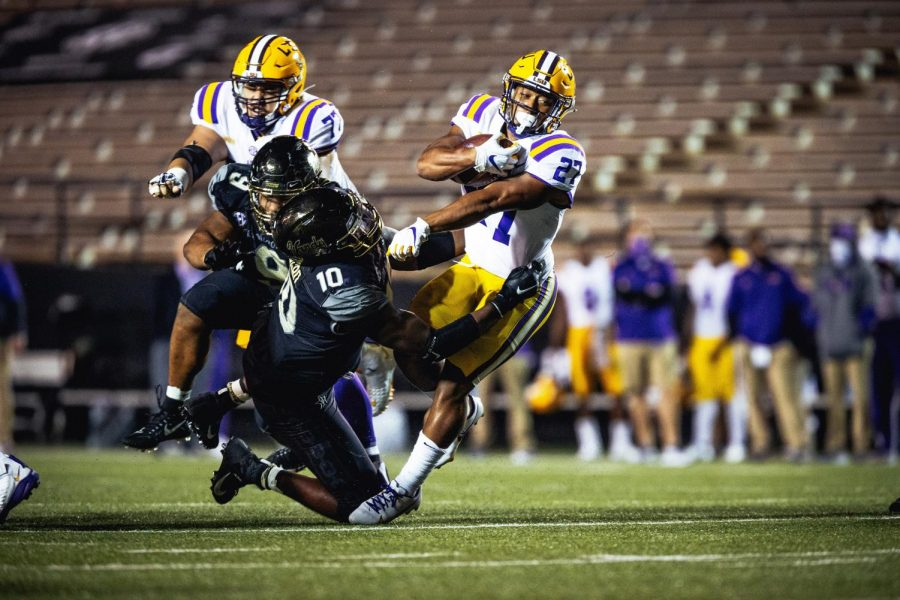 Vanderbilt loses to LSU 41-7 in the 2020 home opener. (Hustler Multimedia/Hunter Long)