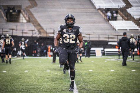 Vanderbilt falls to 0-3 with a 41-7 loss to South Carolina on Oct. 10, 2020. (Hustler Multimedia/Hunter Long)