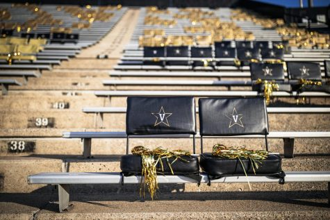 Vanderbilt Stadium awaits the arrival of students for the football team