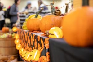 Vandy Campus Dining hosts a Farmers' Market in Rand to celebrate Halloween 2019 (Hustler Multimedia/Emily Gonçalves)