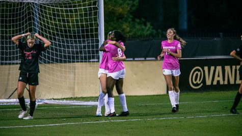 Late-game heroics from Hopkins lifts the Commodores to a 1-0 victory over No. 15 Georgia