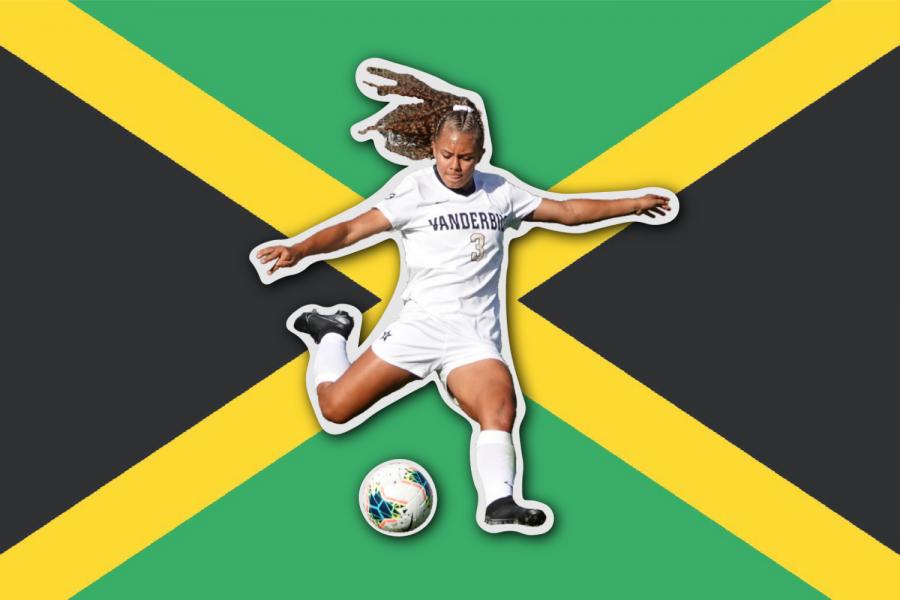 Vanderbilt defender Madiya Harriot represented her college and her country at the highest level. (Hustler