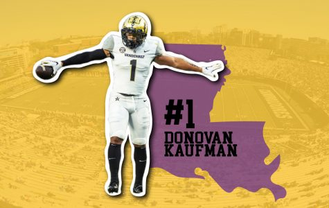 Vanderbilt Safety Donovan Kaufman was one of the top recruits in the state of Louisiana.