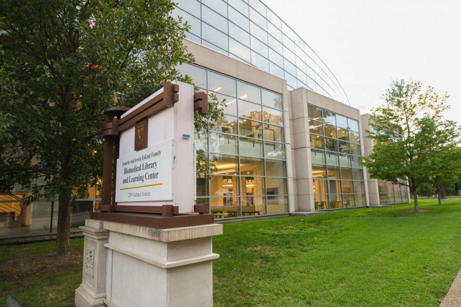 Eskind Biomedical Library as photographed on August 29, 2020. (Hustler Multimedia/Truman McDaniel)