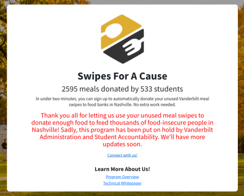 Office of Student Accountability shuts down new student-run org Swipes for a Cause