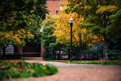 Vanderbilt in the Fall weather pictured on October 26th, 2020 (Photo by Hunter Long)