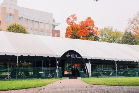 image of dining tent