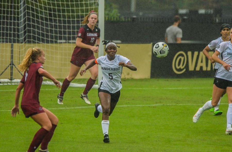 Vanderbilt soccer faces South Carolina at home in 2020. (Hustler Multimedia/Truman McDaniel)