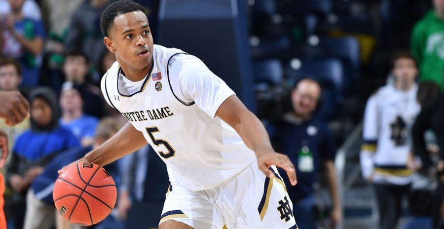 After two productive seasons at Notre Dame, DJ Harvey transferred to Vanderbilt. (Matt Cashore/USA Today Sports).