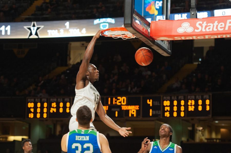 Vanderbilt forward Clevon Brown returns for his fifth season on West End this year. (Hustler Multimedia/Truman McDaniel).