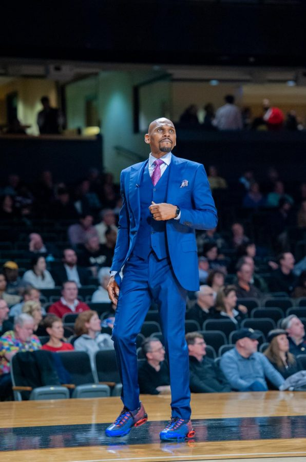 Jerry Stackhouse is entering his second year as Vanderbilt's head coach. (Hustler Multimedia/Truman McDaniel)