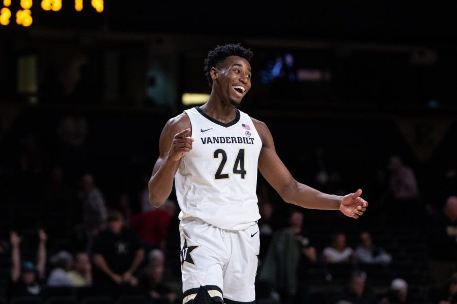 Vanderbilt basketball hosts Southeast Missouri State on November 6, 2019. (Hustler Multimedia/Hunter Long)