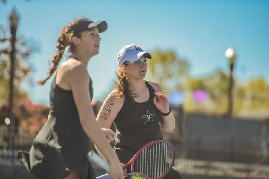 Womens Tennis competes in their local tournament the weekend of November 1st, 2020. (Hustler Multimedia/Truman McDaniel)