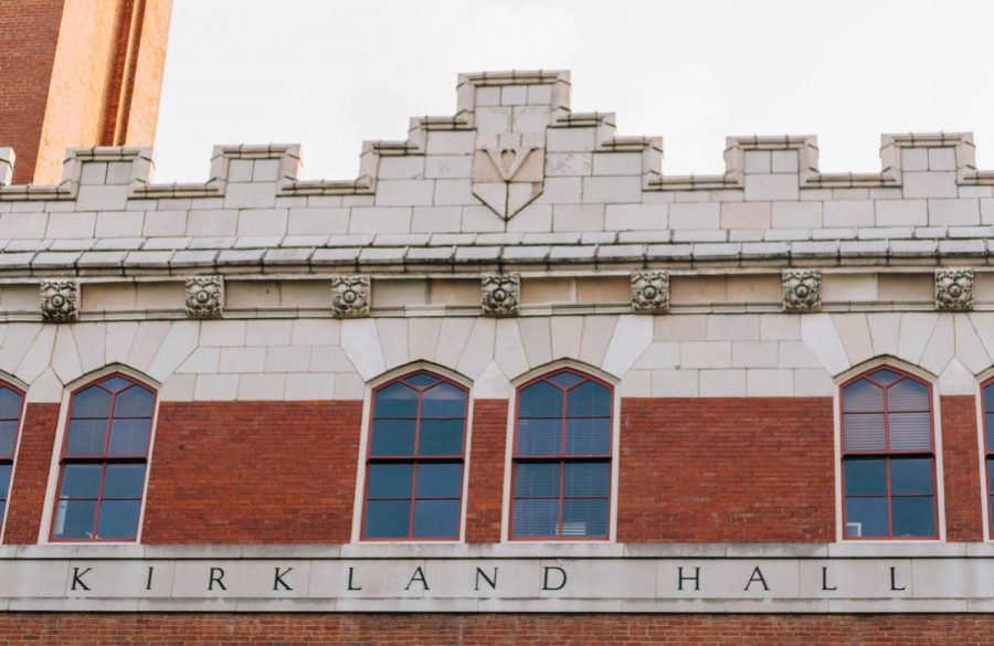 Kirkland Hall houses many of the university's administrators. (Hustler Multimedia/Emery Little)