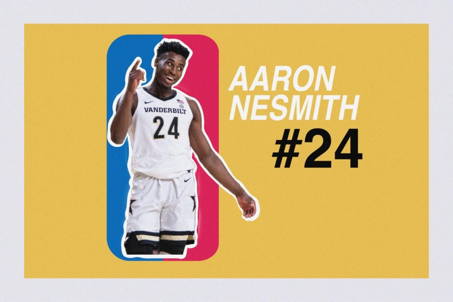 Former Vanderbilt guard Aaron Nesmith is one of the top prospects in this year's NBA Draft.