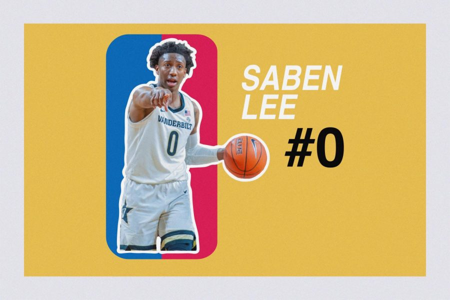 Saben Lee leaves Vanderbilt as one of its all-time leading scorers.