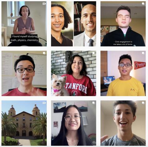 Stanford Instagram recent posts