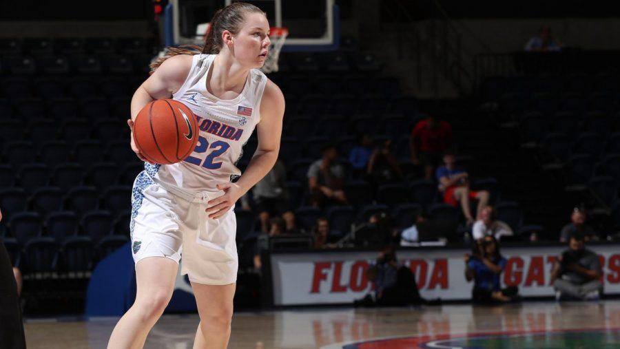 Brylee Bartram played at the University of Florida in the 2019-2020 season. (Florida Athletics)