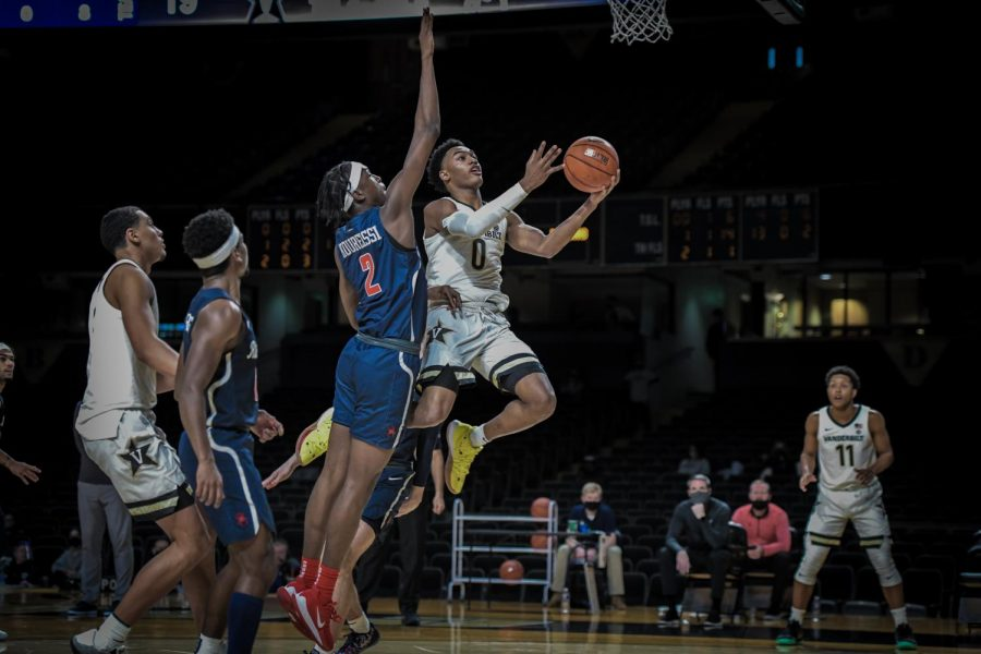 An ugly first half was too much for the Commodores to overcome on Wednesday as they lost to Richmond 78-67. (Hustler Multimedia/Truman McDaniel).