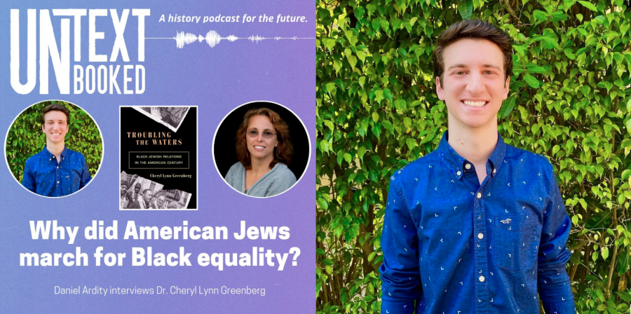 Daniel Ardity interviews Professor Cheryl Greenberg to discuss Black and Jewish relations on podcast