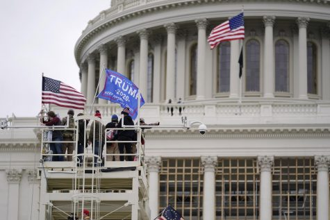 A pro-Trump mob storm Capitol Hill on Wednesday, Jan. 6, 2020. (Associated Press/Julio Cortez)