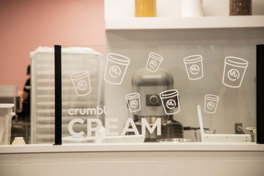 In addition to cookies, Crumbl delivers high-quality ice cream pints (Hustler Multimedia/Hunter Long)