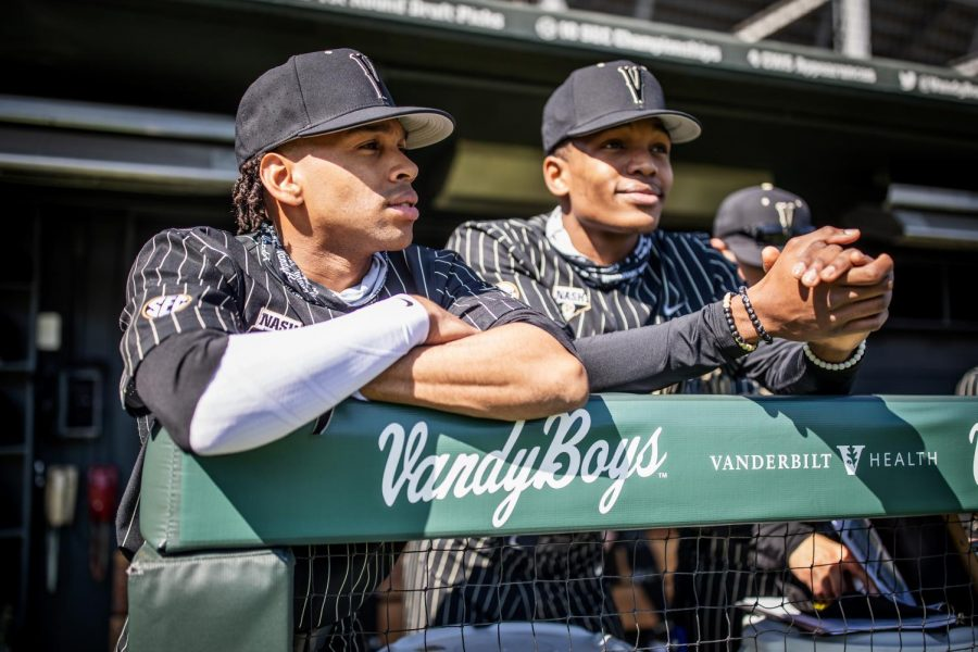 Vanderbilt+baseball+opened+its+season+with+an+emphatic+16-1+win+over+Wright+State.+%28Hustler+Multimedia%2FHunter+Long%29