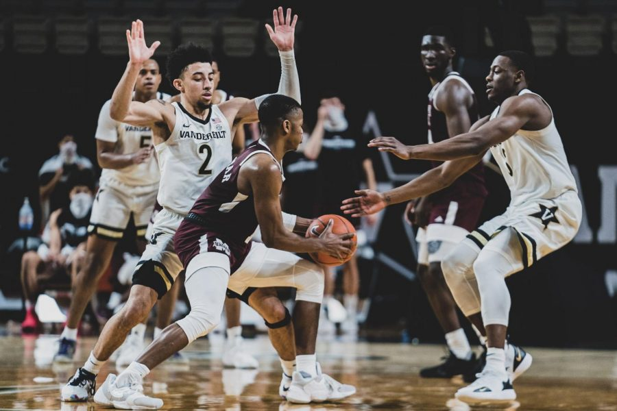 Vanderbilt lost to Mississippi State on Jan. 9 but will face the Bulldogs again this Saturday. (Hustler Multimedia/Truman McDaniel).