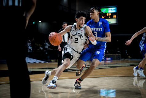 Scotty Pippen Jr. scored 21 second half points in Vanderbilt