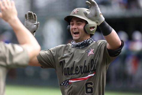 Vanderbilt takes first game of doubleheader 12-2 over Georgia State.
