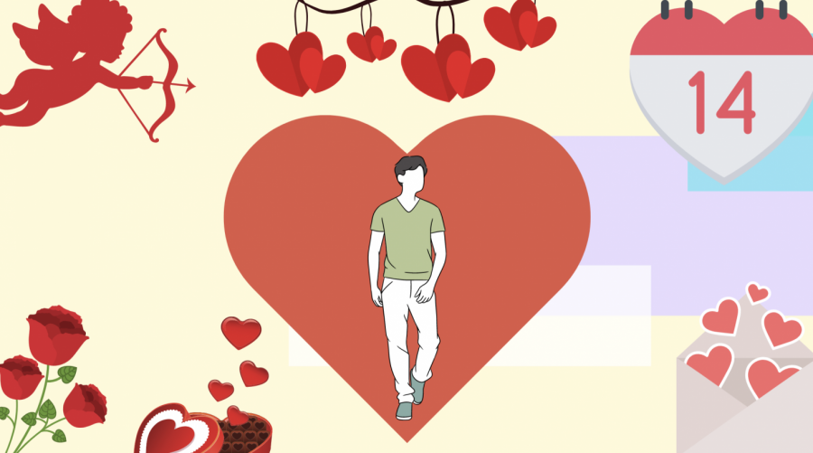 Just because you don't have the ideal romantic relationship should not mean that you don't celebrate Valentine's Day. By reframing our meaning of what love entails, we can all find a way to appreciate this romantic holiday, both traditionally and non-traditionally. (Hustler Staff/Tucker Apgar)
