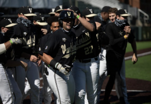 Vanderbilt Baseball plays in the 2020 Black and Gold Series. (Hustler Multimedia/Hunter Long).