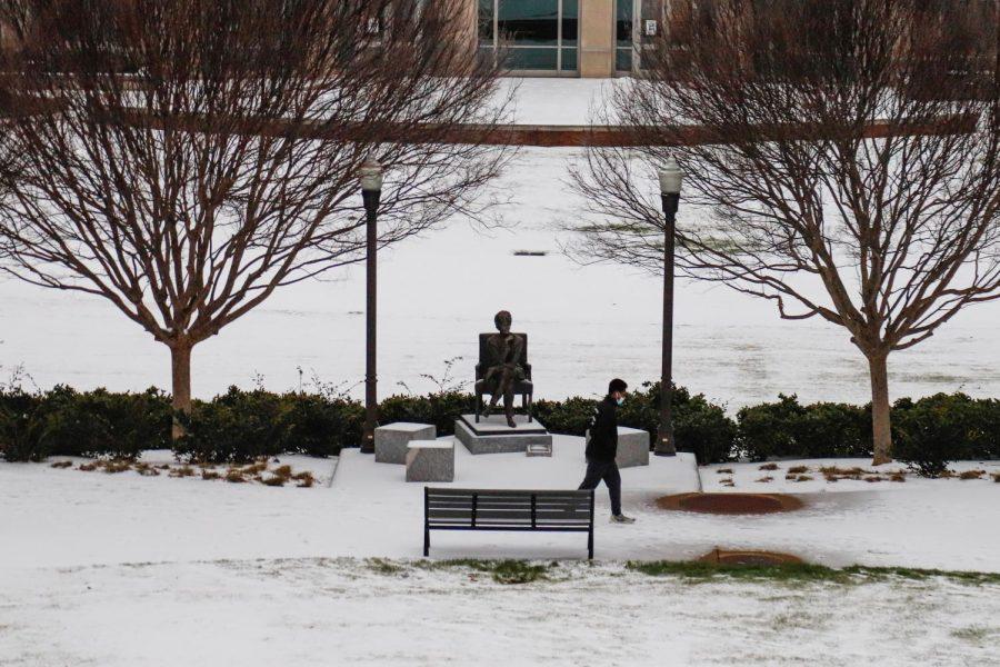 Nashville received snowfall from Monday-Thursday. (Hustler Multimedia/Elle Choi)