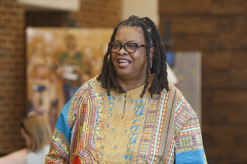 Dr. Teresa Smallwood combines theology and racial justice through her work as an associate director at Vanderbilt (Vanderbilt University/Anne Rayner)
