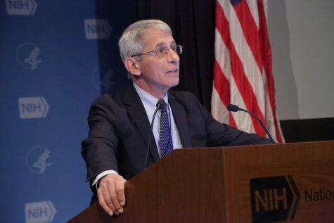 Dr. Anthony Fauci serves as the United States