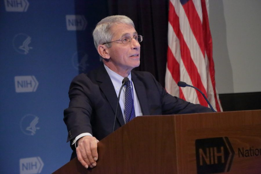 Dr.+Anthony+Fauci+serves+as+the+United+States%27+chief+medical+advisor+and+lead+the+nation%27s+COVID-19+response.+%28Photo+courtesy+National+Institutes+of+Health%29