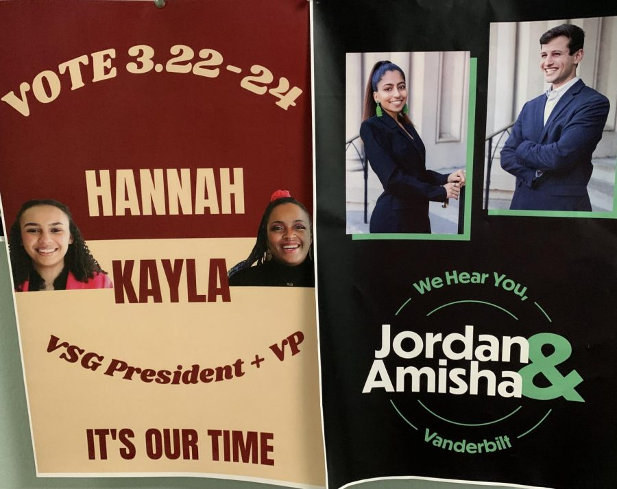 Image of campaign posters.